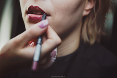 Sesja wizerunkowa - Magda (Zaparowana) Tags: woman makeup photoshoot photographer face mouth color making canon 6d 2470mm tamron 28 eos blog blogged dof bokeh fotograf warszawa polska sesja portret portrait