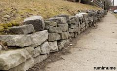 stones (rumimume) Tags: potd rumimume 2017 niagara ontario canada photo canon 80d sigmaniagarafalls grey outdoor stone wall rock