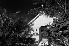 The Divine Deception (RobMatthews) Tags: hopetown monochrone caribbean bw bahamas stjamesmethodistchurch