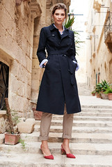 Just Trench (betrenchcoated) Tags: trenchcoat trench doublebreasted buttoned beautifulgirl raincoat regenmantel regenjacke