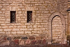Two Windows And A Blocked Doorway (k009034) Tags: 500px window baltic countries copy space estonia laitse tranquil scene arch architecture brick building castle door no people old stone travel destinations wall teamcanon