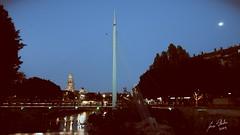 Pasarela de Manterola (Bloggera2.es) Tags: murcia nikon d90 tokina 1116mm noche night puente catedral