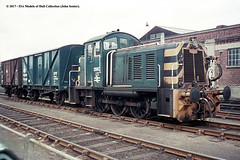 c.1969 - Southampton Docks. (53A Models) Tags: britishrail rustonhornsby class07 060de 2987 d2987 07003 diesel shunter southampton docks hampshire train railway locomotive railroad