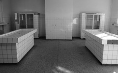 Pathology/Mortuary, Sachsenhausen (Miranda Ruiter) Tags: berlin concentrationcamp warmemorial warvictims wo2 photography blackandwhite oranienburg pathology mortuary sachsenhausen