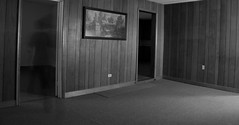 IMG_1274 (e08avenger) Tags: ghost black white photographs spooky fake horror haunted haunting staged old house motion blur