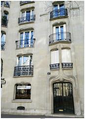 Rue Agar Paris (vazyvite) Tags: paris france 2017 art nouveau architecture rue agar