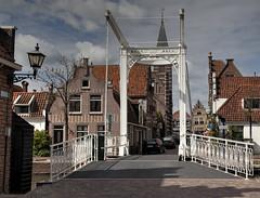 Baan brug Edam (Frank Terpoorten) Tags: edam nederland waterland nholland baanbrug1881 brug metalenbrug