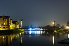 IMG_0465 (G_HOWDEN) Tags: exeter night quay bridge water reflection canon efs 24mm stm