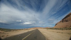 20161109_182135 (Mr. Pi) Tags: road argentina ontheroad layers rocks dirtywindow hills clouds patagonia