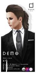 Men's Hair-DURA-B76 (Chi('ㅂ')) Tags: dura hair limit8 male mens secondlife