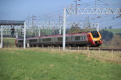 Tilting (worldthroughalens74) Tags: train crosscountry voyager stableford railway diesel uk england staffs virgin class221