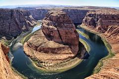 Magnificent Colorado (erichudson78) Tags: usa arizona page horseshoebend paysage landscape fleuve river coloradoriver canoneos6d canonef24105mmf4lisusm canyon nature gorge reflets reflection eau water