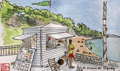 Le Tour de France virtuel - 83 - Var (chando*) Tags: aquarelle watercolor croquis sketch france