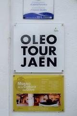 0607-20161016_Hacienda La Laguna Olive Oil Museum-Baeza-Spain-information board at entrance to Museum site (Nick Kaye) Tags: baeza andalucia spain europe museum oliveoil