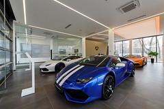 Lamborghini eröffnet ersten Showroom in St. Petersburg (motorholic7) Tags: lamborghini russia russland showroom stpetersburg