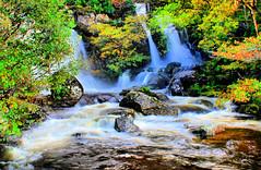 waterfall (Duncan the road rebel) Tags: waterfall water landscape scottishlandscape scotlandslandscape waterflow river