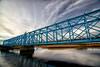 Blue bridge (Jim Skovrider) Tags: 1116f28lens atx116prodx adobephotoshoplightroom colorefexpro d800 danmark denmark gudenå nature niksoftware nikon nikond800 nikonfx nikonfxshowcase randers randersfjord sky sun theriverguden tokina ultrawide