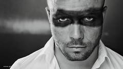 Black Belt . . . (Geraldos ) Tags: photoshoot shoot doedie hairstudiorestyle portret man youngman eyes augen ogen pure puur mood atmosphere portrait strong sterk blik look nikon105mmf2ddc nikon d800 geraldos geraldemming