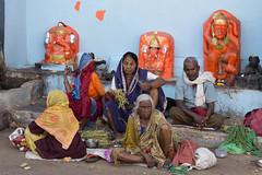 Selling outside a temple (JohnMawer) Tags: nasik nashik maharashtra india in