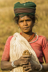 Tribal woman (wietsej) Tags: tribal woman maikal hills chattisgarh india portrait sony a100 zeiss 135 18 sal135f18z
