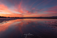 incredible sunset at the Annagassan Beach (Pastel Frames Photography) Tags: annagassan beach colouth ireland sunset incredible reflections clouds colour sky nature canon5dmark3 2470mm amazing discoverireland