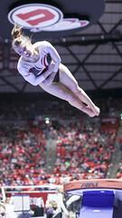 gymnastics003 (Ayers Photo) Tags: sports canon utahutes utah utes red redrocks gymnastics barefoot bare foot feet toes toe barefeet woman women