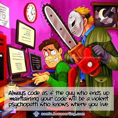 Psychopath - Webcomic about web developers, programmers and browsers (browserling) Tags: cartoon comic webcomic joke browser browserling crossbrowsertesting webdeveloper webdesigner webprogrammer code psychopath night programming bestcodingpractices softwaredevelopment webdev developer designer programmer geek nerd internet web cartoons comics webcomics jokes browsers webdevelopers webdesigners webprogrammers webdevelopment developers development designers