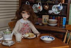 A is for annoyed (Little little mouse) Tags: dollstown ganga megan dt7 bjd dollfie bygillknit homemadedress