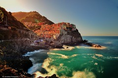 manarola in early morning light (explored) (Rex Montalban Photography) Tags: rexmontalbanphotography manarola italy cinqueterre