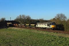 33063, Woodthorpe,  23 March 2017 (Mr Joseph Bloggs) Tags: 33063 33 great central railway brcw emrps woodthorpe loughborough freight cargo merci train treno bahn railroad