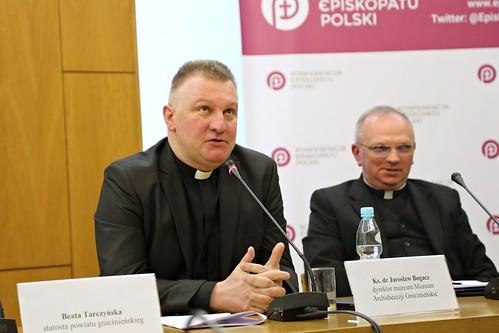 Jubileuszem 600 – lecia Prymasostwa w Polsce - konferencja prasowa, Warszawa, 20 IV 2017