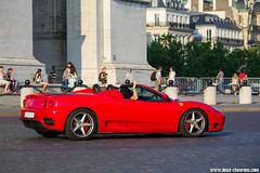 Spotting 2013 - Ferrari 360 Spider (Deux-Chevrons.com) Tags: ferrari360spider ferrari 360 spider 360spider ferrari360modena modena 360modena supercar sportcar exotic exotics gt prestige spot spotted spotting croisée rue street paris france auto automobile automotive
