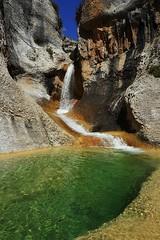 Cascadas de Peña Guara (jaecheve) Tags: mascun guara sierradeguara huesca aragon españa spain cascada waterfall