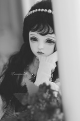 Black & White ❤ (leoooona08) Tags: bjd doll dollfie balljointeddoll sooleedoll msdoll sadol love60 miu
