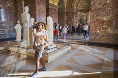 The stance (aylmerqc) Tags: paris france muséedulouvre thelouvre louvre gallery museum art beauxarts