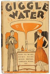 Giggle Water (kevin63) Tags: lightner kitschyliving facebook pictures old vintage retro images prohibition giggle water flapper 20s instruction book cover howto formula mixeddrinks wines cordials bootleg bathtub illegal