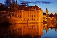 beautiful Bamberg (Steffi-Helene) Tags: villen nightshots nachtaufnahmen gold bavaria deutschland germany unescoworldheritage sonyalpha77ii fluss regnitz bamberg