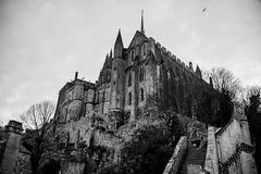 Le Mont-Saint-Michel (Günther Bayerle) Tags: castle church frankreich