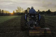 DSCF3300 snolic farming (snolic...linda) Tags: arkansas 501 fujixt2 snolic ozarkmountains farming tractor sunrise planting