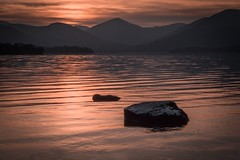 Sun setting at Balmaha, Loch Lomond (caledonialandscapes) Tags: balmaha lochlomond loch munro sunset