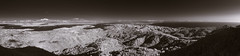 Mount Tamalpais Panorama (fksr) Tags: california landscape blackandwhite infrared marincounty sanfranciscobay pacificocean sanfrancisco panorama