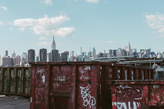 View of NYC from Greenpoint (www.lanolan.com) Tags: 35mm 35mmf2 50mmequiv brooklyn day fuji fujifilm fujifilmxpro2 fujinon fujinonxf35mmf2 greenpoint newyork newyorkcity newyorknewyork ny nyc outdoors outside people skyline skyscrapers thebigapple urbanlandscape williamsburg xpro2