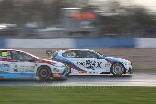 Rob Collard in race three at the British Touring Car Championship 2017 at Donington Park