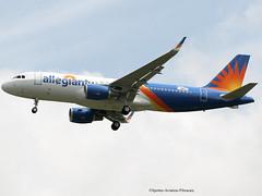 Allegiant Air. FIRST TEST FLIGHT. NEW LIVERY. (Jacques PANAS) Tags: allegiant air airbus a320214wl n246nv fwwdz msn7664