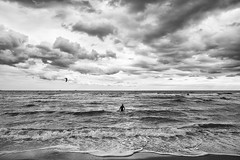 waves (Roberto.Trombetta) Tags: sea ocean wind surf surfer kite kitesuf windsurf storm swell big wave water competition black white bw blackanwhite sony alpha 7rm2 7rii batis225 carl zeiss batis 25 cloudy strong race italy italia foam fine art fineart mare onda vento nuvoloso fog nebbia cold freddo ice table muta diving suit wetsuit condition tough harsh fear no weather bianco e nero monocromo acqua costa oceano allaperto paesaggio bagnasciuga calma surreale