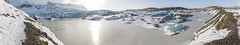 Svinafell (Svinafellsjokull) glacier (Tony Balmforth) Tags: svinafell glacier svinaellsjokull blue ice awsome view iceland south west lagoon floating icebergs skys winter out this world tony balmforth panorama cyan