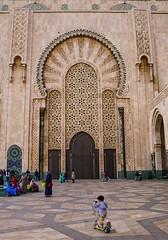 Hassan II Mosque, Casablanca (hacenem) Tags: casablanca hassanii mosque