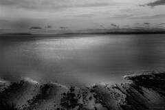Llantwit Beach Mono (CanonCymru) Tags: canon light mono atmosphere moody cluds sea beach wales