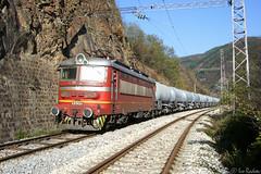242 543... (Rivo 23) Tags: bdz bulgarian state railways electric locomotive skoda 64e class 43 543 freight train cement iskar gorge bulgaria cargo railway бдж електрически локомотив шкода товарен влак искърско дефиле