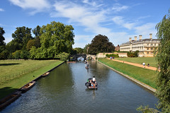 Cambridge (1151) (travelintime (on and off)) Tags: cambridge england unitedkingdom greatbritain university boat travel britain gb cam river nikon d7200 punting